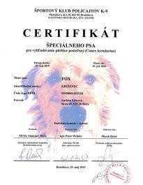 certifikat-specialneho-psa-plostice-fox-791x1024